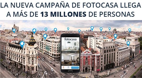Fotocasa lanza la campa a ahora m s pisos que nunca for Inmobiliaria fotocasa