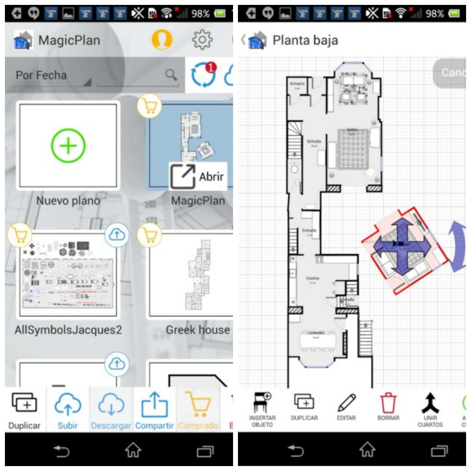 Apps para el profesional inmobiliario: MagicPlan