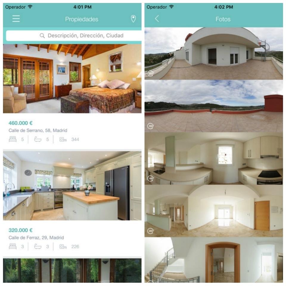 Apps para el profesional inmobiliario: EasyMeasure: Vitrio