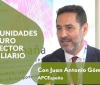 """Juan Antonio Gómez-Pintado [APCEspaña]: """"Se reactiva el sector inmobiliario"""""""
