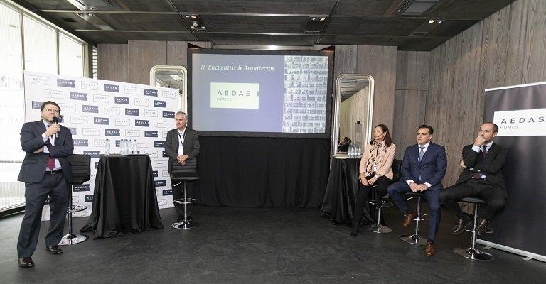 La industrialización centra el debate del II Encuentro de Arquitectos Aedas Homes