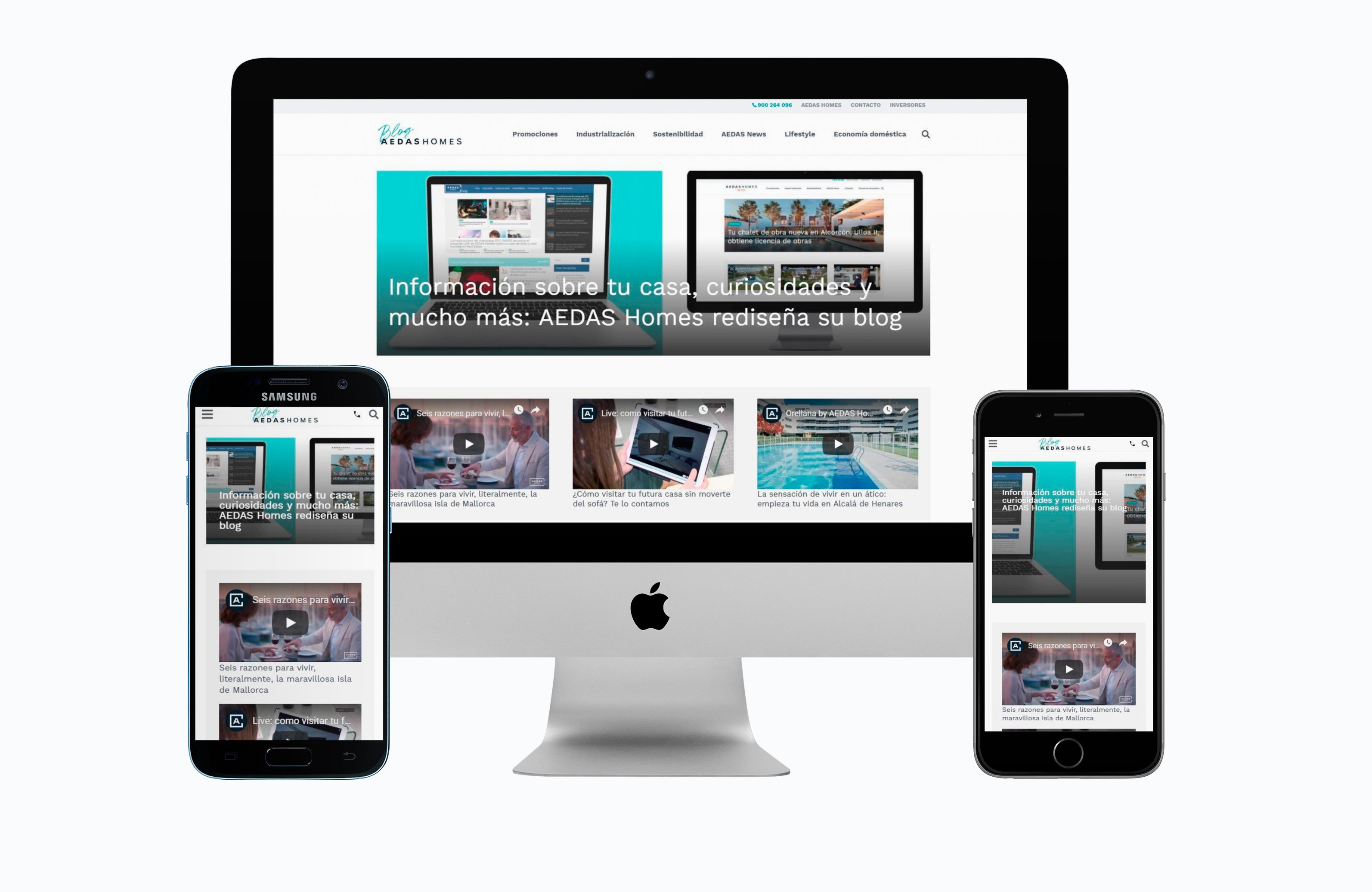 AEDAS Homes moderniza su Blog