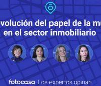 Entrevista con cuatro expertas del sector inmobiliario para que nos den su opinión sobre la participación de la mujer en el sector.